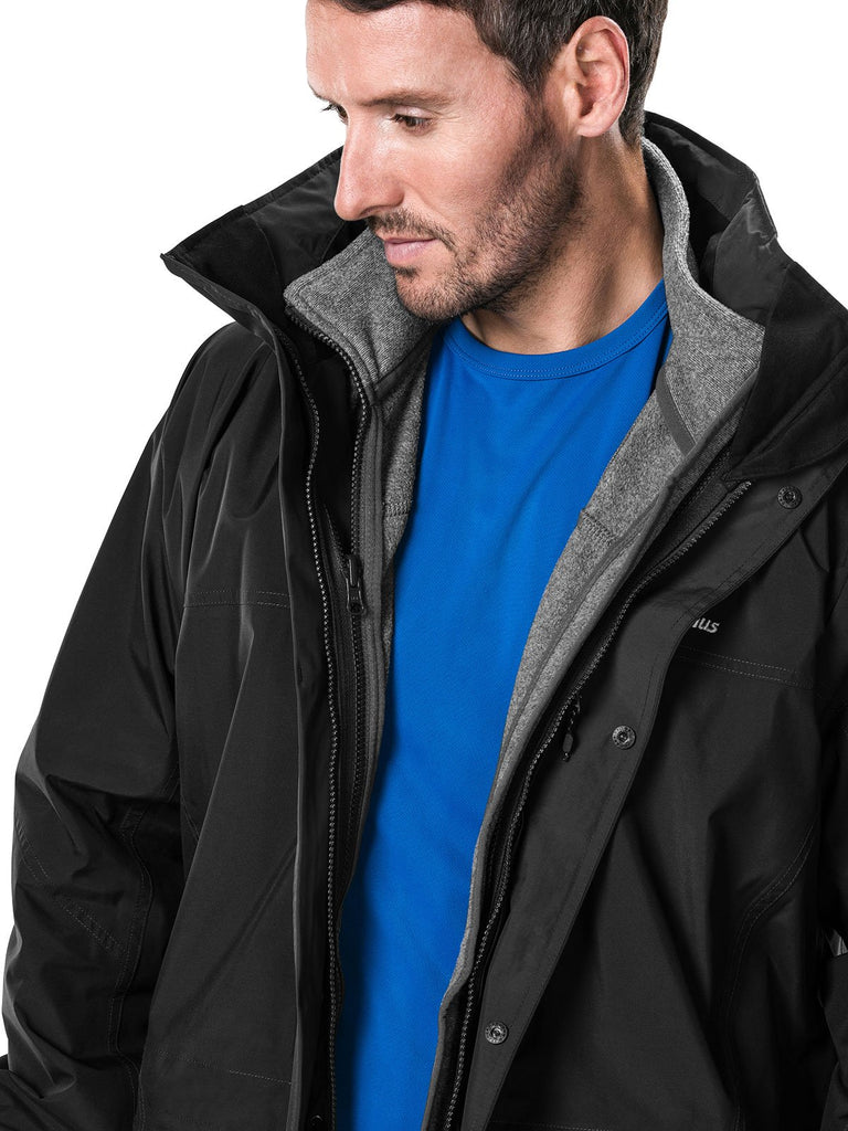 Men's Berghaus Cornice Waterproof Jacket IA - Black