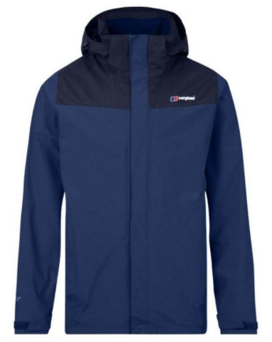 Men's Berghaus Hillwalker InterActive Waterproof Jacket - Navy