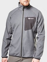 Men's Berghaus Kedron Full Zip Fleece - Black