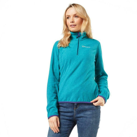 Berghaus Women's Hendra Half Zip Fleece - Green