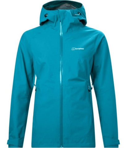 Women's Berghaus Ridgemaster Vented Waterproof Jacket - Blue