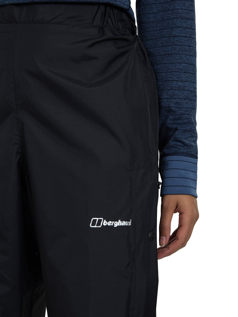 Women's Berghaus Deluge 2.0 Waterproof Pant - Black