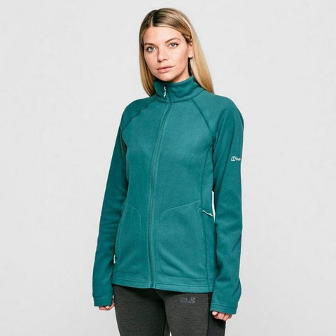 Women's Berghaus Hartsop Full Zip Fleece - Green