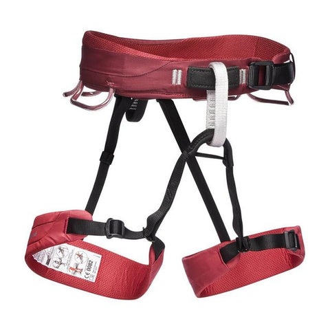 Women's Black Diamond Equipment Momentum Harness - Red