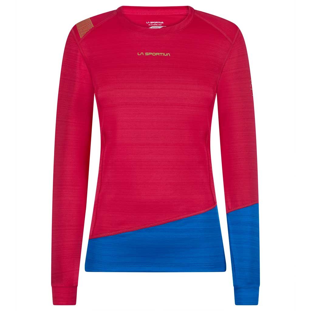 La Sportiva BASE LAYER Top Women's Dash Long Sleeve Orchid/Neptune
