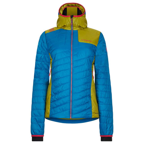 La Sportiva INSULATED Jacket Women's Misty Primaloft Neptune/Kiwi