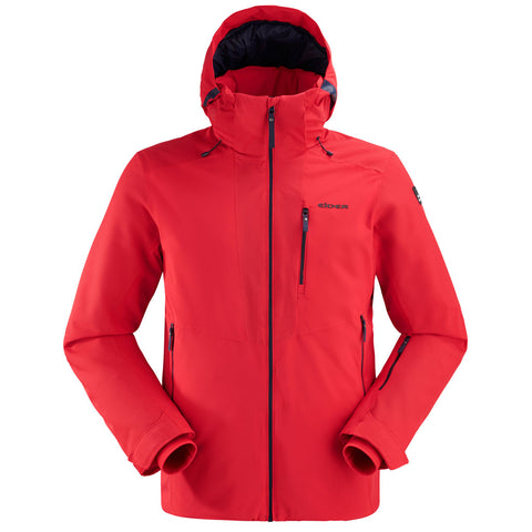 Eider SKI Jacket Men's Ridge 3 Red Evo