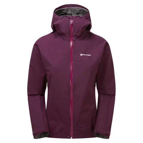 Montane WATERPROOF Jacket Women's Pac Plus Saskatoon Berry
