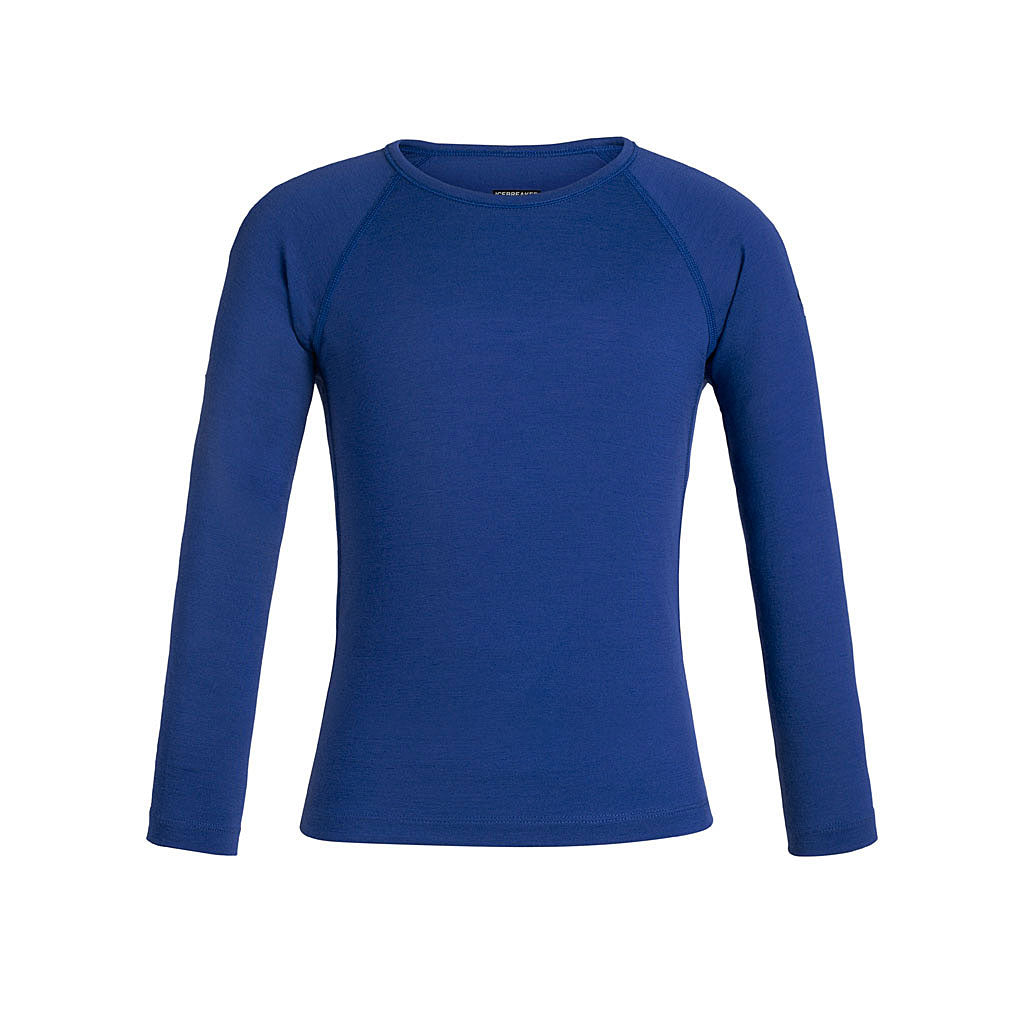 Icebreaker BASE LAYER Top Kid's Oasis LS Crewe Surf