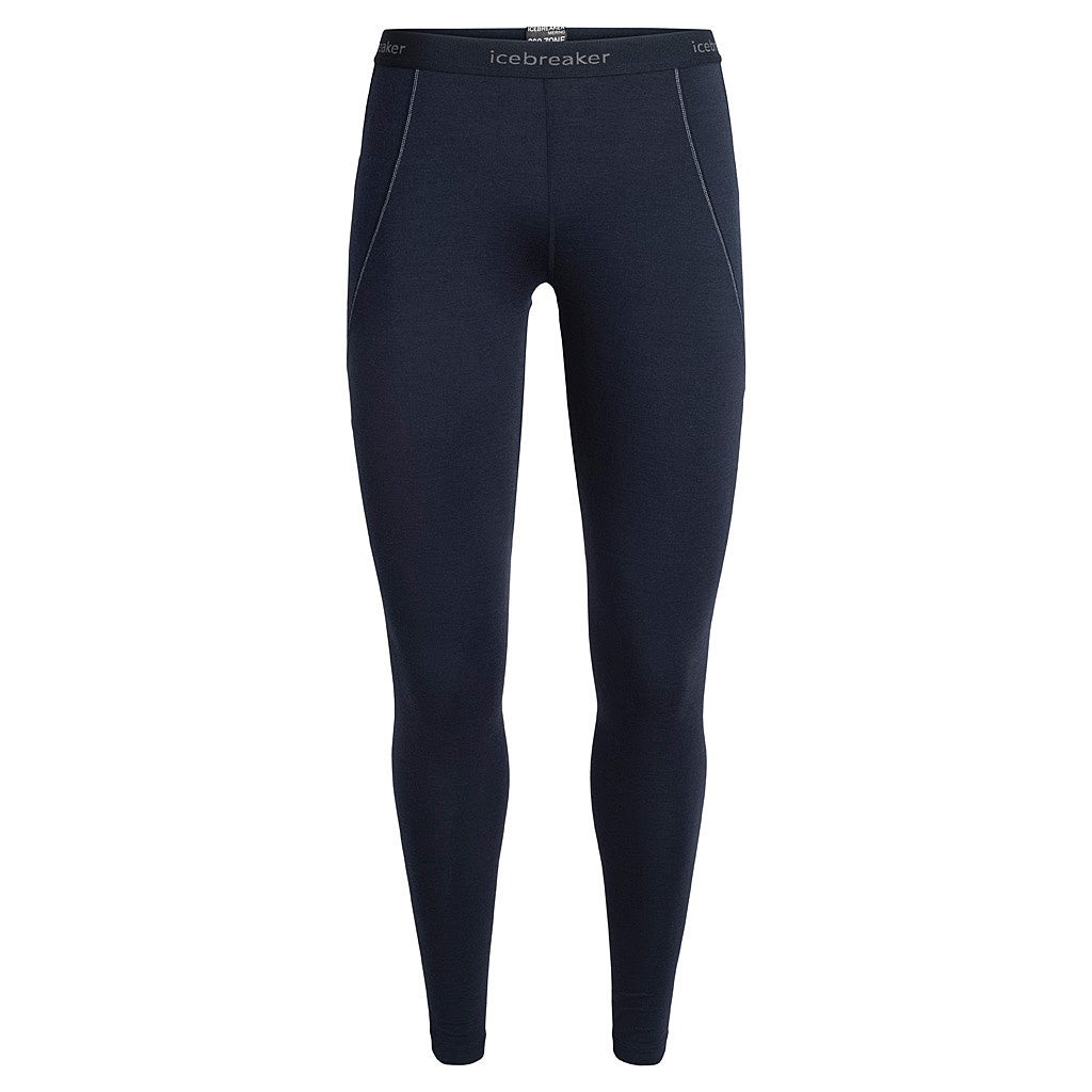 Icebreaker BASE LAYER Pants Women's 260 Zone Leggings Midnight Navy