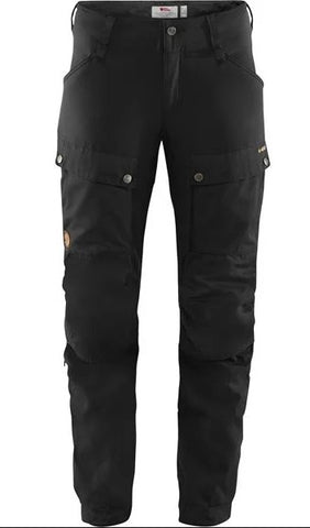 Men's Fjallraven Keb Trousers Regular - Black