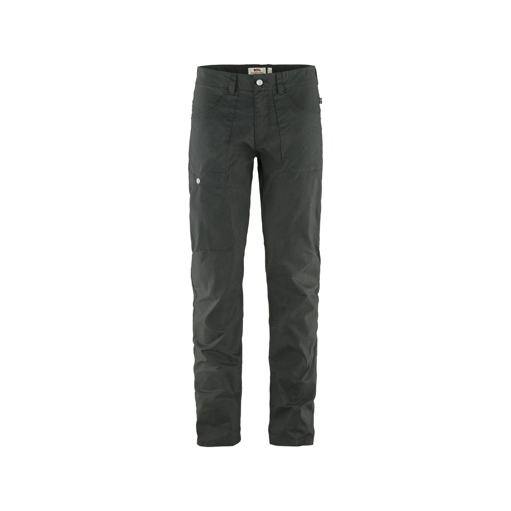Men's Fjallraven Vardag Lite Trouser Reg - Dark Grey