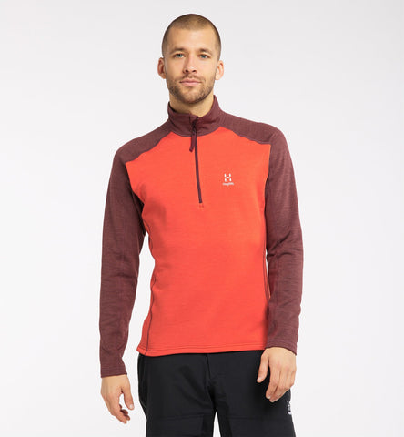 Men's Haglofs Heron Half Zip - Orange