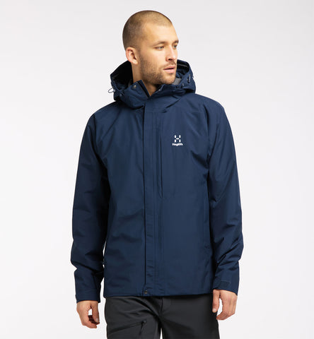 Haglofs Men's Stratus Waterproof Jacket - Blue