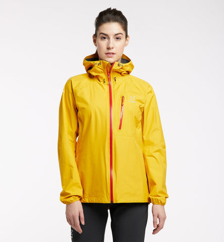 Women's Haglofs L.I.M Jacket - Yellow