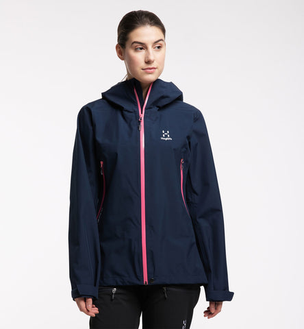 Women's Haglofs Roc GTX Jacket - Blue