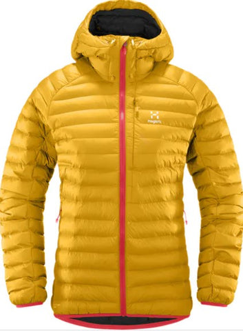 Women's Haglofs Rapid Mimic Hood - Yellow