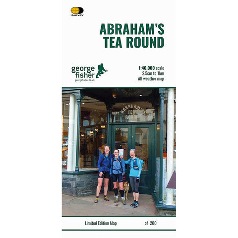 Harvey Map - Abrahams' Tea Round 1:40000