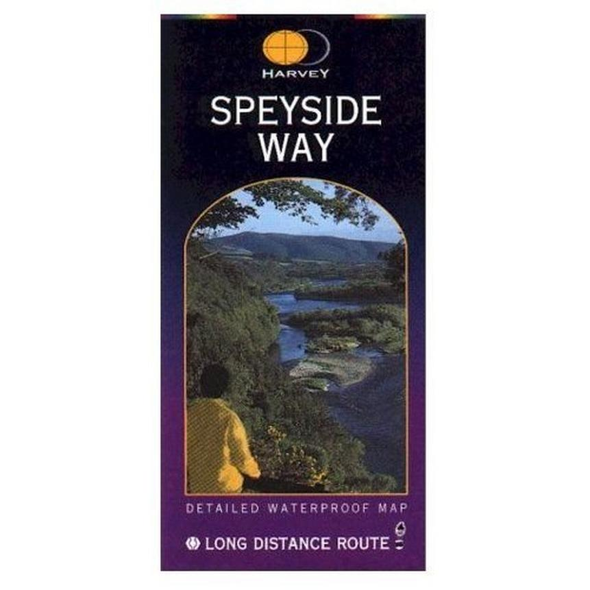 Harvey Map: Speyside Way