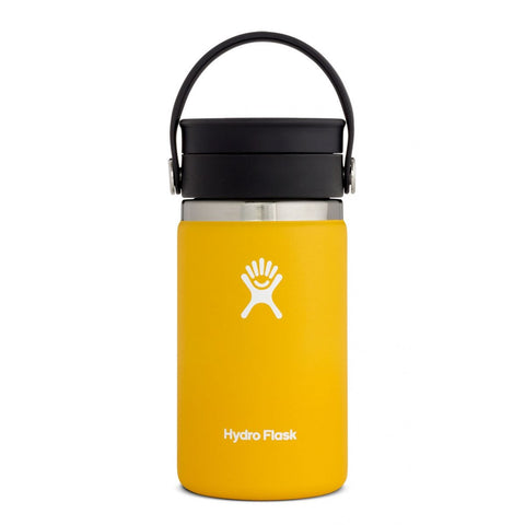 Hydro Flask 12oz Coffee Wide Mouth Flex - Yellow
