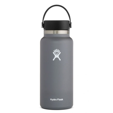 Hydro Flask 32oz Wide Mouth - Grey