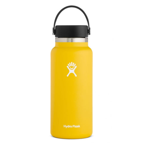 Hydro Flask 32oz Wide Mouth - Yellow