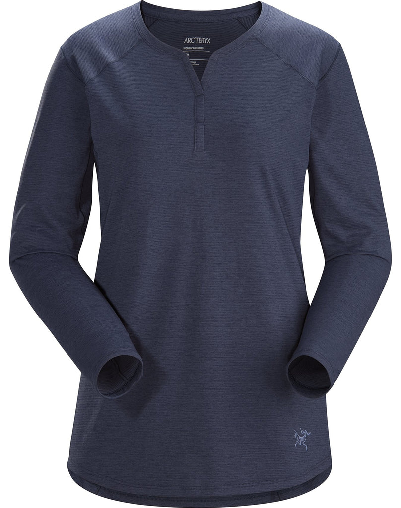 Arc'teryx Women's Kadem Top LS - Navy