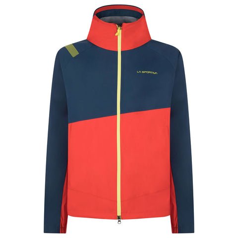 La Sportiva WATERPROOF Jacket Men's Zagros GTX Opal/Poppy
