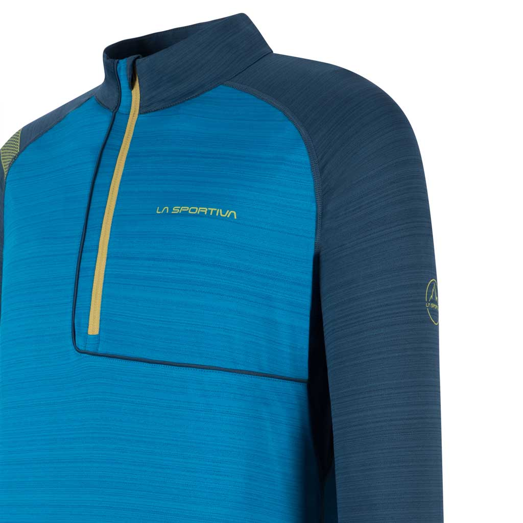 La Sportiva BASE LAYER Top Men's Planet Long Sleeve Neptune/Opal
