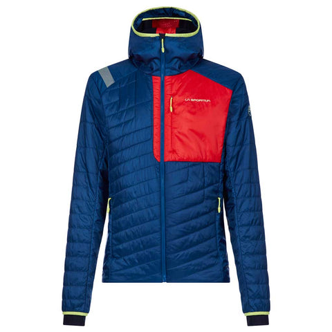 La Sportiva INSULATED Jacket Men's Meridian Primaloft Opal/Poppy