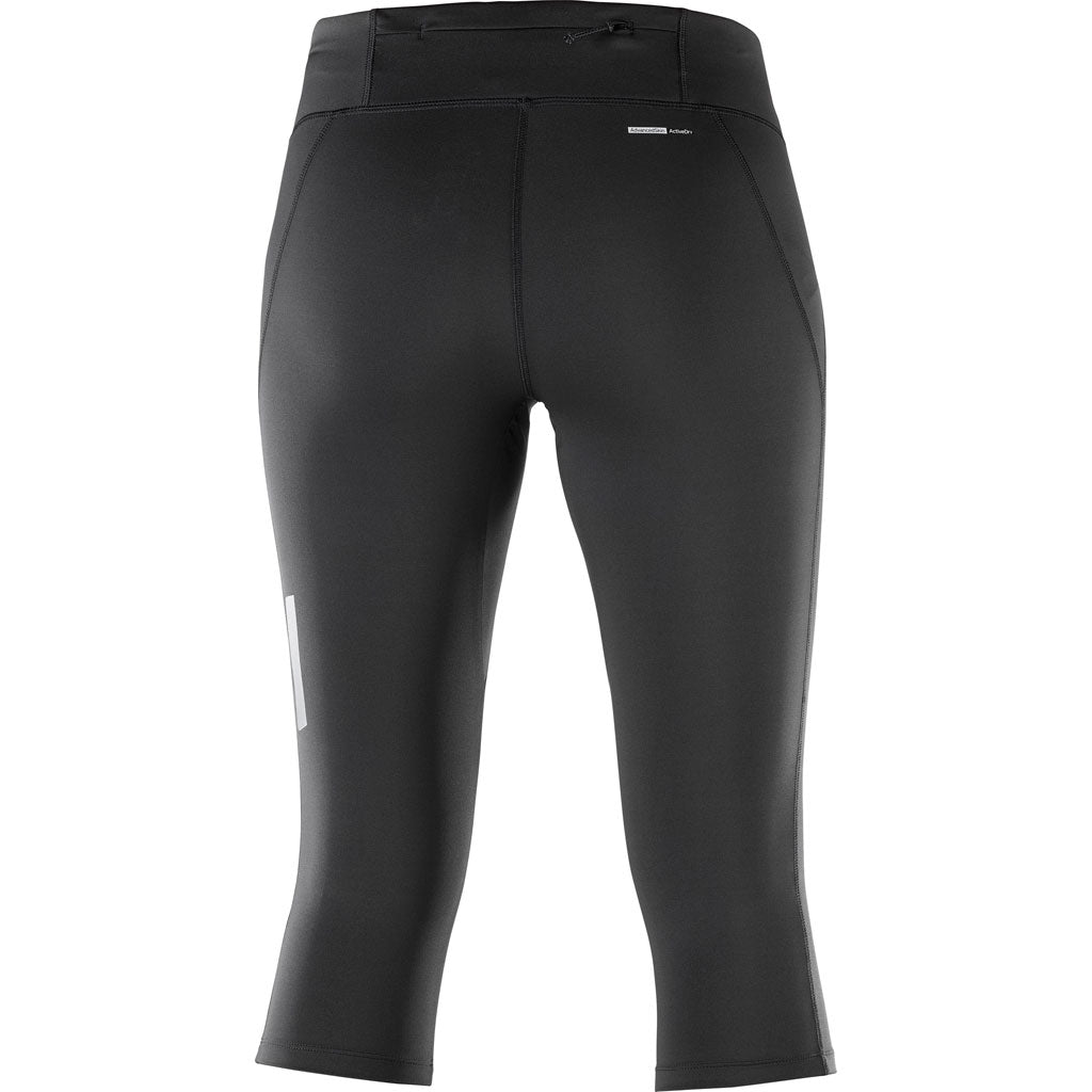 Salomon Pants Women's Agile Mid Tights Black