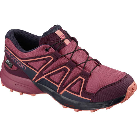 Salomon Shoes Junior Speedcross CSWP Malaga/Purple/Desert