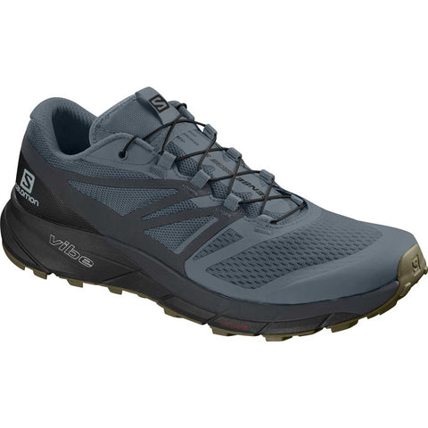 Salomon Shoes Men's Sense Ride Stormy Weather/Ebony/Black