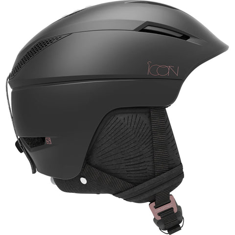 Salomon Ski Helmet Women's Icon2 C. Air S-M Black