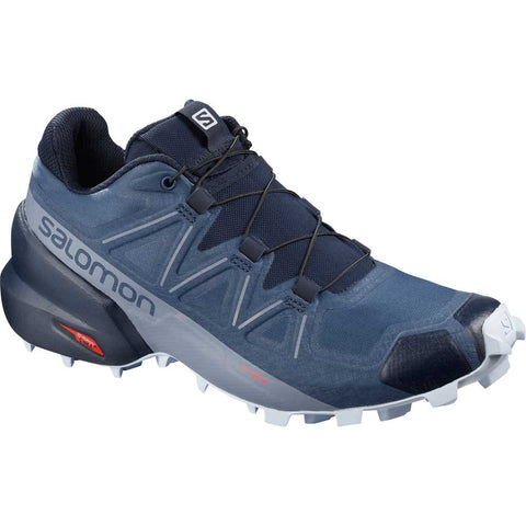 Salomon Shoes Women's Speedcross 5 Wide Sargasso Sea/Navy