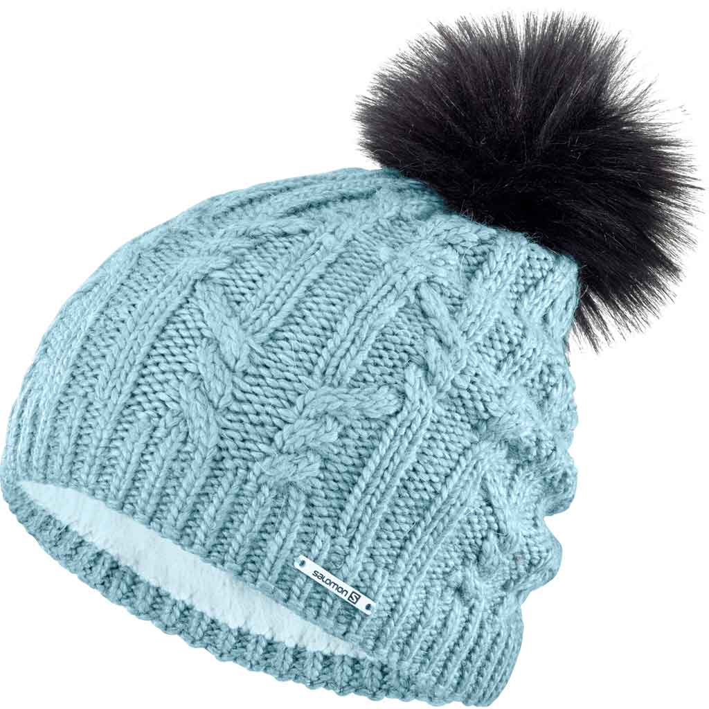Salomon Hat Ivy Beanie Stone Blue