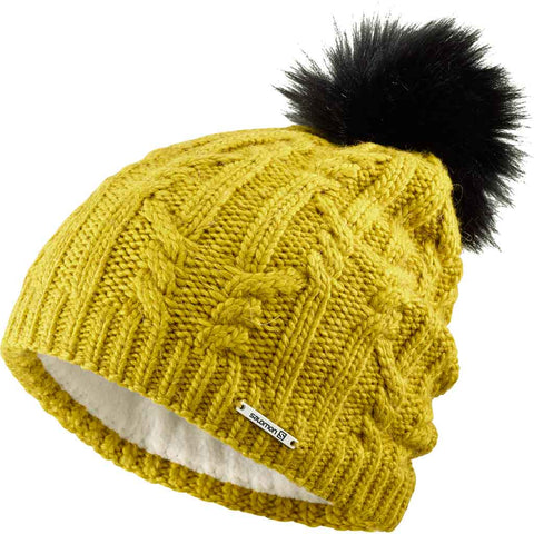 Salomon Hat Ivy Beanie Golden Palm
