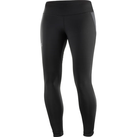Salomon Pants Women's Agile Warm Tights Black