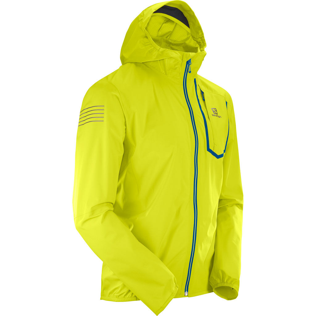 Salomon WATERPROOF Jacket Men's Bonatti Pro WP Citronelle