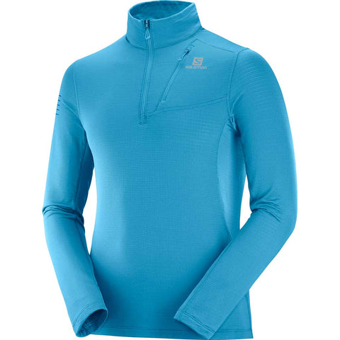 Salomon Top Men's Grid HZ Mid Fjord Blue