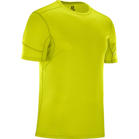 Salomon Top Men's Agile SS Tee Citronelle