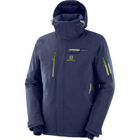 Salomon SKI Jacket Men's Brilliant Night Sky