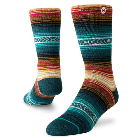 Stance HIKING Socks Men's Outdoor Devil's Peak Red