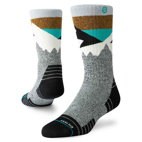 Stance HIKING Socks Men's Divide Hike Black