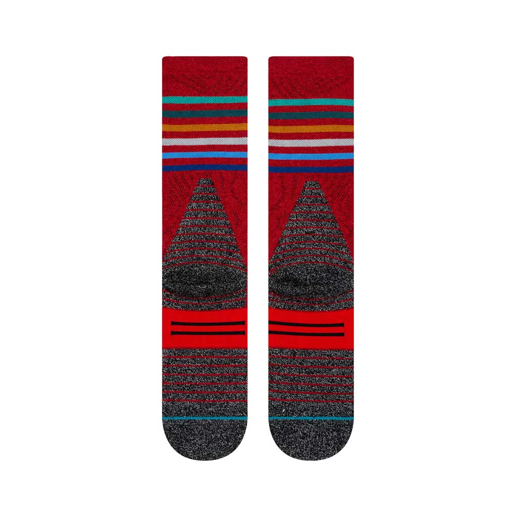 Stance HIKING Socks Men's Trek Karma JC Red