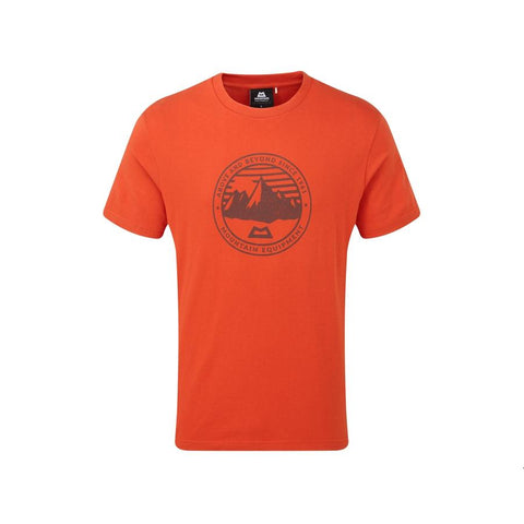 Men's Mountain Equipment Roundel Tee - Orange