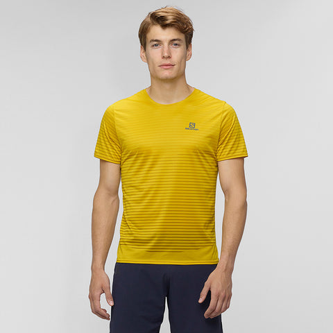 Salomon Men's Sense Tee - Yellow