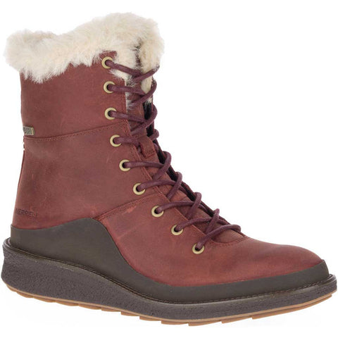 Merrell Boots Women's Tremblant Ezra Lace Polar WP Sable