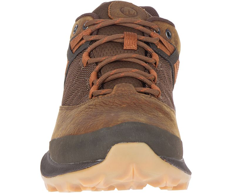 Men's Merrell Zion GTX Shoe - Brown