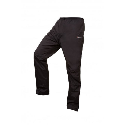 Men's Montane Dynamo Waterproof Pants Regular - Black